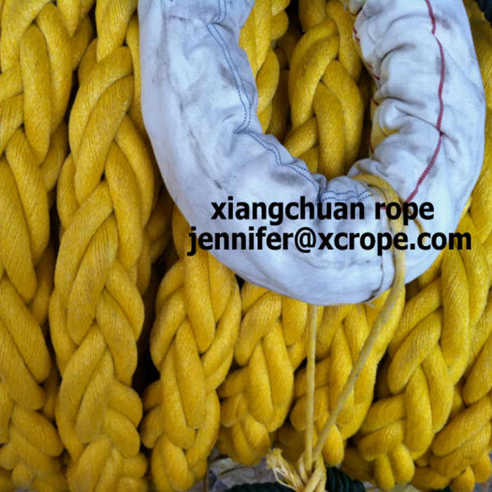 8 strands pp mixed with polyester rope 80mm 1