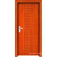 Porte intérieure en bois (LTS-115)