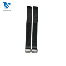 Nylon Reusable Printed Hook Loop Cable Tie