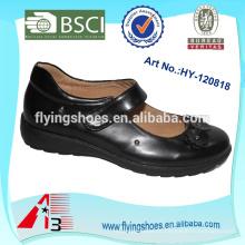 Calçados de escola de velcro de energia ao ar livre calçados de escola nua