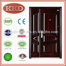 Superficie de acabado y seguridad acero media puerta KKD-571B