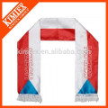 2016 OEM cheap polyester satin scarf