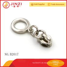 Kreishalter-Verschluss Reißverschluss Schieber