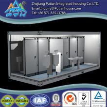 Long lifespan quick install cheap prefab prefabricated toilets container house