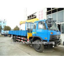 DongFeng 153 truck mounted crane