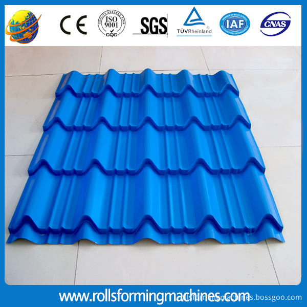 glazed tile roll forming machine3