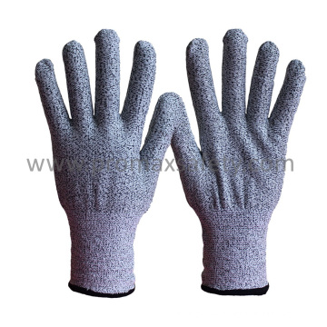 13G Hppe Fiber Knitted Anti Cut Gloves