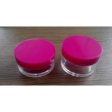 Tarro de crema, tarro cosmético, envase plástico del cosmético