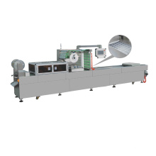 Automatic Thermoforming Stretch Film Vacuum Packaging Machine For Meat Seafood Bean Curd