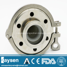 ISO Sanitary rebreather stainless steel clamp