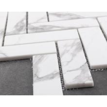 Impresión de mosaico de mármol para decoración de paredes
