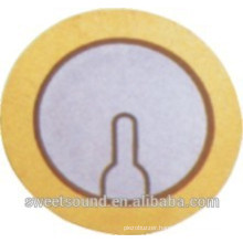 wholesale piezo ceramic element round 2.6khz 31mm piezo electric ceramics