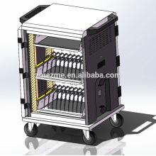 ZMEZME nouveau design ipad / tablette charge chariot chargeur de synchronisation de l'armoire