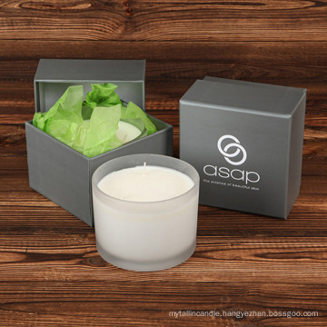 Three Wicks Pure Soy Hot Selling Candle with Exquisite Box