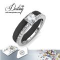 Destino los cristales de la joyería de Swarovski cerámica Enchanted Ring
