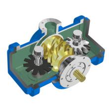 Одновинтовой безмасляный воздушный компрессор, сертифицированный CE (110 кВт, 10 бар)