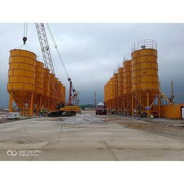 Цементный силос на 1000 тонн на болтах
