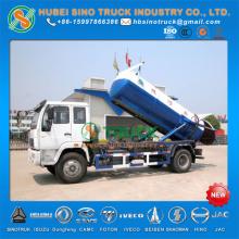 12000L Vacuum Suction Truck HOWO