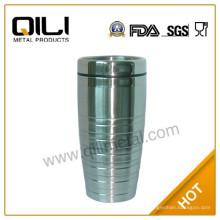 450 мл стакан двойной стены из нержавеющей стали