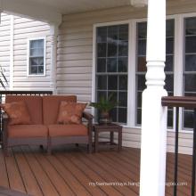 Hot sale lowest price WPC wood plastic composite hollow decorative wood floor