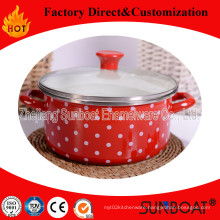 Sunboat Enamel Pot Baby Food Soup Pot Cooker Pot Milk Pot