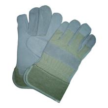 Gant de travail en cuir de vache Split, gant de sécurité, gant CE