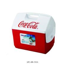 21 litros piquenique mini carro cooler / aquecedor refrigerador caixa de plástico,