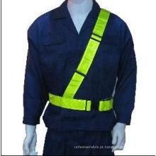 Cinto de segurança EN471 com fita de PVC