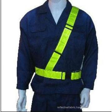 EN471 safety Waist Belt with PVC tape