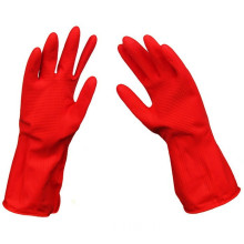 Washing Rubber Gloves