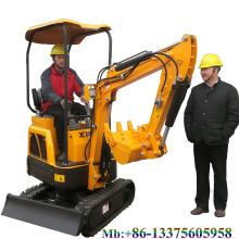 Mini excavadora de cadenas XN12 1.2 ton mini pelle