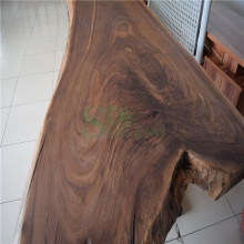 Wooden Table Top Made by American Black Walnut Solid Board
