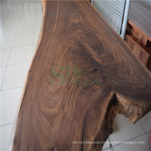 Book Matched Table Top Made of American Black Walnut