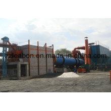 Secador de tambor rotatorio de lodo de carbón de gran capacidad