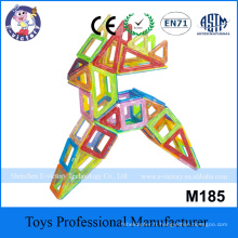 Educational Magnetic Block Super Quality Magnetic Building Blocks Plastic Building Connector Toys For Kids