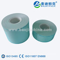 Heat seal dental surgical sterilization reel for steam and eo