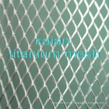 Batterie en titane de haute qualité Mesh / maillage tissé en titane / maillage expansé titane / maille en anneau titane ----- 30 ans d'usine