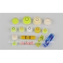Mini bolhas redondas de nível de bolha