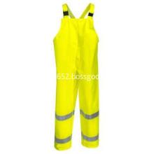 Hi Vis Yellow Eclipse Waterproof FR Overalls