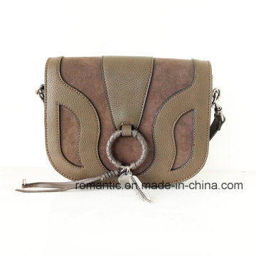 Elegante diseño de marca damas PU hombro bolsos (NMDK-062204)