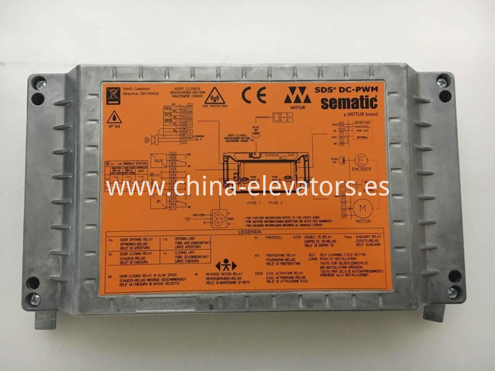 Sematic Door Operator Controller SDS DC-PWM for Schindler Elevators