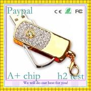Simple Jewelry USB Flash Disk Diamond Jewelry USB (GC-S012)