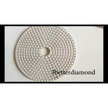 10 inch wet pads high quality black polishing pads for granite