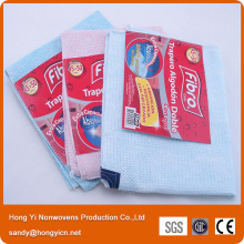 80%Cotton+20%Polyester Super Water and Oil Absorbent Pink or Blue Floor Cleaning Cloth
