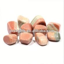 High Polished Gemstone glow pebble stone