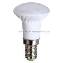 Bulbos do diodo emissor de luz de 4W / 320lm E14 / R39, material plástico + corpo de alumínio