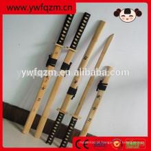 estilo mais novo personalizado 2018 Hot vender novo design espada de bambu