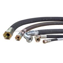 Joints de tuyau d'assemblage de tuyau hydraulique avec le tuyau de Manuli