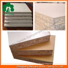 1220*2440*18mm High Quality Melamine Particle Board (BY-012)