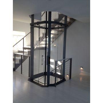 Машинная гостиная без лифта Лифт со стеклянной кабиной
